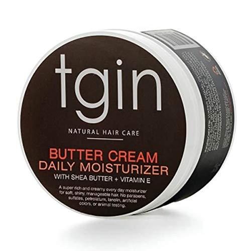 tgin Butter Cream Daily Moisturizer For Natural Hair - Dry Hair - Curly Hair - 12 Oz