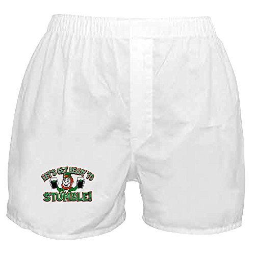 (Royal Lion Boxer Short (Shorts) Ready to Stumble Irish Shamrocks - Small)