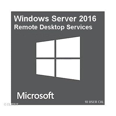 Microsoft Windows Server 2016 Remote Desktop Services - 10 User CAL