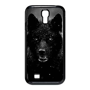 Black Wolves New Fashion For Case Samsung Galaxy Note 2 N7100 Cover , Popular Black Wolves Case