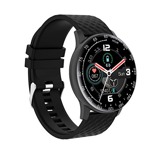 N/P Hongmed Smart Watch, Fitness Watch with Blood Pressure Oxygen Monitor for Android Phone and iPhone Compatible, Fitness Tracker Waterproof for Women Men