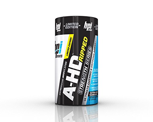 BPI Sports A-HD Ripped Strength Series, 60 Count (Best Testosterone Stack Cycle)