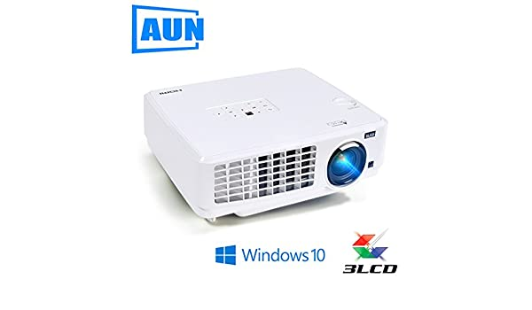 Windows10 Proyector, ubeamer1s, 3LCD proyector, 4000 lumens, 1024 ...