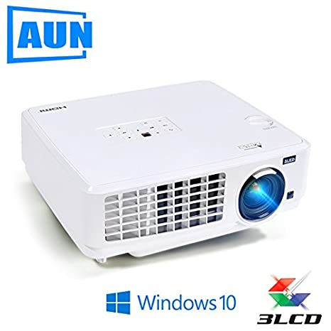 Windows10 Proyector, ubeamer1s, 3LCD proyector, 4000 lumens ...