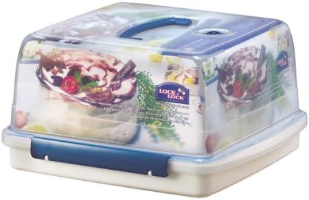 Lock & Lock - Recipiente para Tartas con Tapa y asa (12,6 litros): Amazon.es: Hogar
