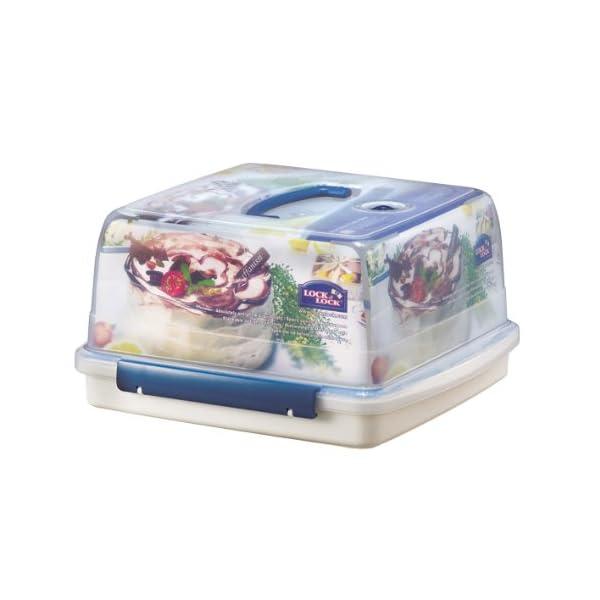 Lock & Lock Square Cake Box