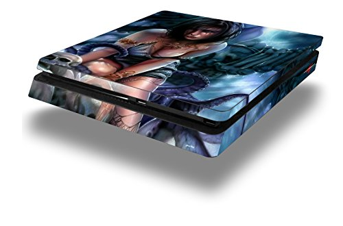 WraptorSkinz PS4 Slim Skin Wrap Bride of Cthulhu - Decal Style Skin fits Sony PlayStation 4 Slim Console