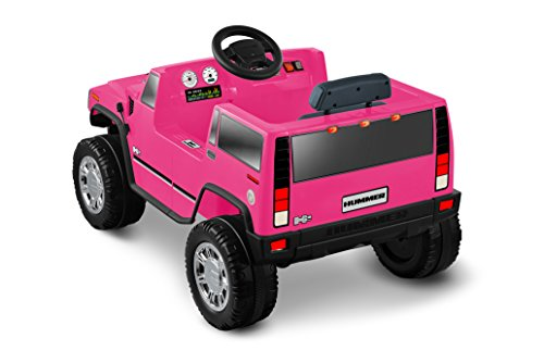 National Products 6v Pink Hummer H2 Battery Operated Ride On Ride