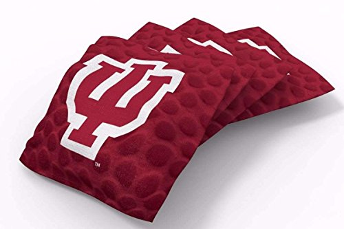 - PROLINE 6x6 NCAA College Indiana Hoosiers Cornhole Bean Bags - Pigskin Design (A)