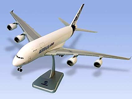 buy aircraft scale model airbus a380f house colors cargo scale 1