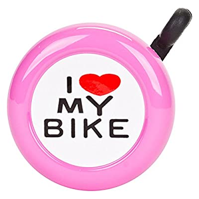 "Sunlite ""I Love My Bike Bell, Pink : Sports & Outdoors"