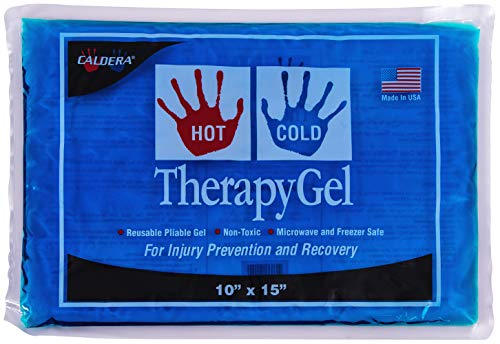 CALDERA Hot & Cold Therapy Gel - Relief From Aches & Pains, Dental Pain, Insect Bites, Joint Pains, Menstrual Cramps and Migraines (Size 10
