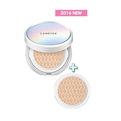 [LANEIGE] 'NEW2016' BB Cushion_Pore Control 15g+Refill 15g SPF50+PA+++ / No.13 lvory