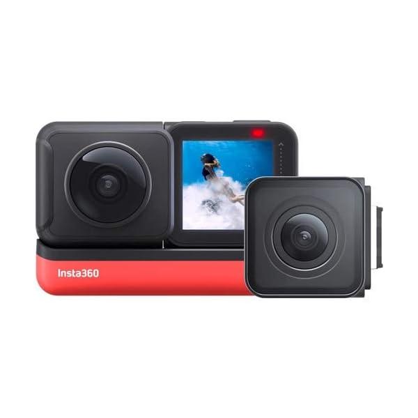 RetinaPix Insta360 ONE R Twin Edition 5.7K Panoramic 4K 360 Sports Action Camera