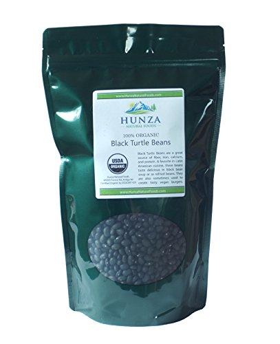 Hunza Organic Black Turtle Beans (2 lbs)