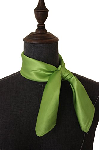 Silk square scarf pure color head scarf blend neckerchief (Blend Scarf)