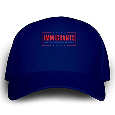 Immigrants Make America Great Again Nohate Nofear Noban - Cap