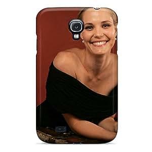 Brand New S4 Defender Case For Galaxy (leslie Bibb Smile Celebrities) by supermalls