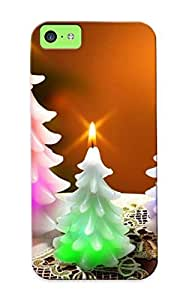 Blackducks Hot Tpye Candle Tree Case Cover For Iphone 5c For Christmas Day's Gifts