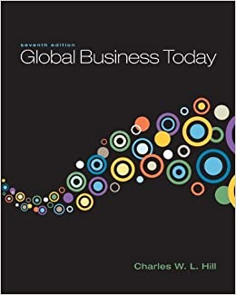 Book Global Business Today with Connect Plus by Charles W. L. Hill (2010-09-01)