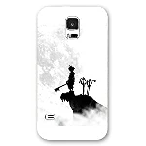 UniqueBox Customized White Frosted Samsung Galaxy S5 Case, Kingdom Hearts Samsung S5 case, Only fit Samsung Galaxy S5