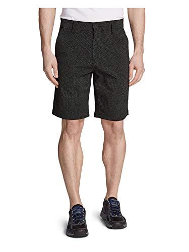Eddie Bauer Men's Horizon Guide Chino Shorts - Pattern, Black Regular 46