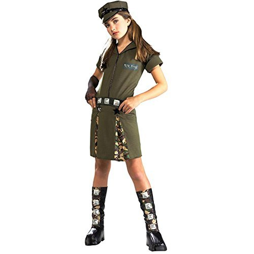 Tween Girls Major Flirt Costume -