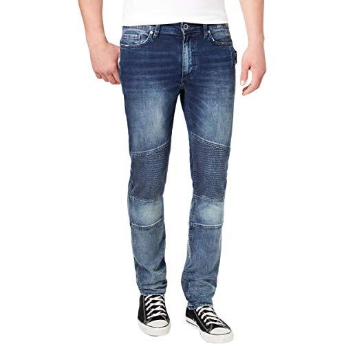 Calvin Klein Men's Skinny Fit Denim Jean, Sunlit Blue, 34W 32L ()