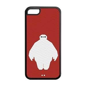 the Case Shop- Customizable Baymax iPhone 5C TPU Rubber Hard Back Case Cover Skin , i5cxq-261 hjbrhga1544