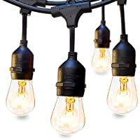 addlon 48 FT Outdoor String Lights Commercial Great...