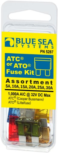 Blue Sea Systems ATC Fuse Kit (6-Piece) - 30a Blade Fuse Shopping Results