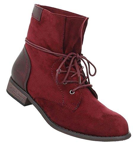 2a110305a079 Damen Schuhe Stiefeletten Schnürstiefel   Jeansstiefel Boots   Kurzschaft  Stiefel   Flache Stiefelette   Stiefeletten zum