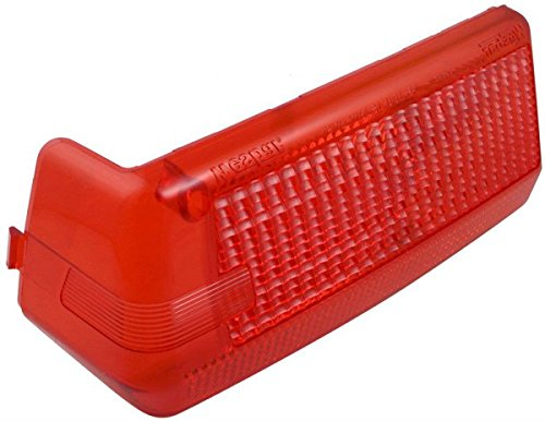 Lens Wesbar (Wesbar 003372 Wrap-Around Left Marine Tail Light Lens)