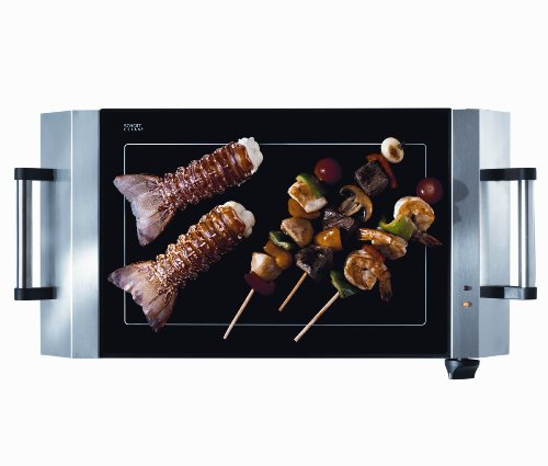 Fulgor La Scappi ODEC720T2ASS 20-Inch Stainless-Steel Indoor/Outdoor Electric Grill