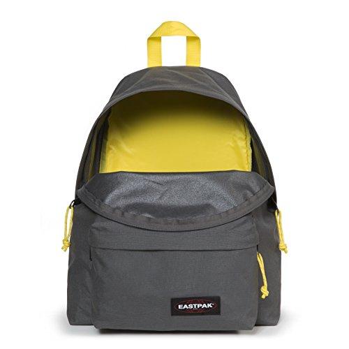 Pak'r grey À Gris L Sac Padded Cm nbsp; Noir 40 Eastpak yellow Dos 24 Aw5xq7