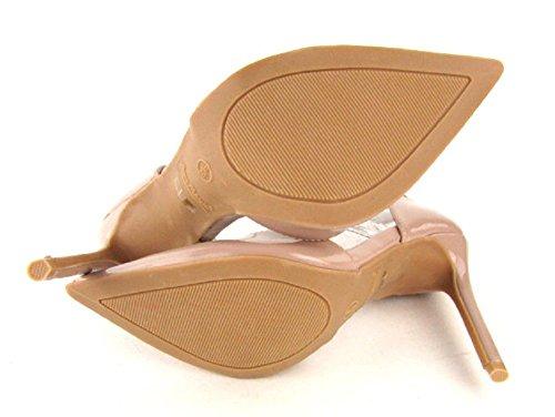 Anne Michelle Alzarsi-08 Cinturino Alla Caviglia Patentato Punta Punta Nuda