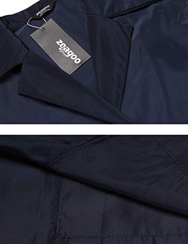 Donna Zeagoo Dark Giacca Giacca Blue Zeagoo Donna Dark x664vTXq