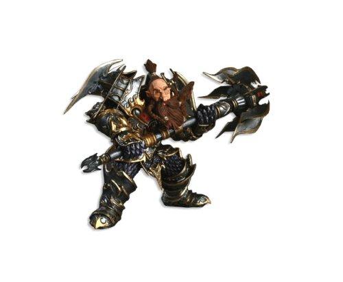 World of Warcraft Serie 1 - Thargas Anvilmar  Dwarf Warrior Actionfigur