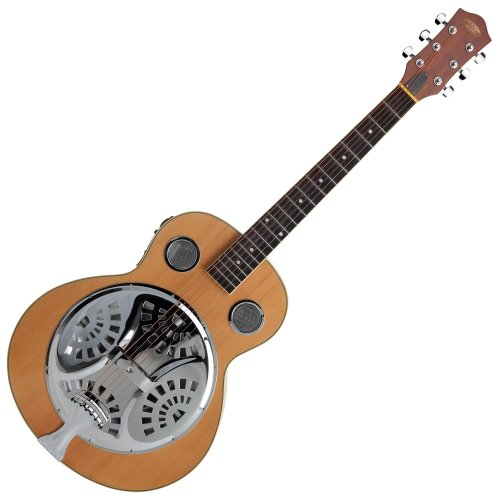 Classic Cantabile RS-1 Acoustic Series Resonatorgitarre (Tonabnehmer mit 4-Band Equalizer, Fichte/Mahagoni Korpus)