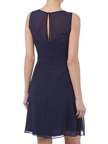 Royaldress Einfach Damen Chiffon Knielang Kurzes Abendkleider Partykleider Promkleider A-linie Rock Brautjungfernkleider