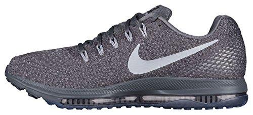 Nike Mens Scarpe Da Corsa Tutti Fuori A Bassa Grigio Scuro / Lupo Grigio / Platino Puro