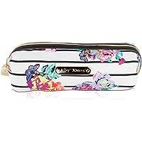 Betsey Johnson Nylon Pencil Pen School Supplies Stationary Case Pouch Bag Holder - Floral