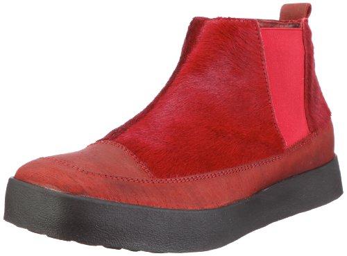 Think Hauchal 7-87054 Damen Stiefel Rot/Rosso/Kombi