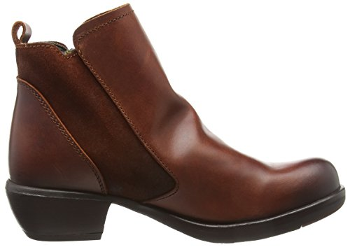 Fly Red Ankle Boots 010 London Meli Women's Brick a7UZwanrX