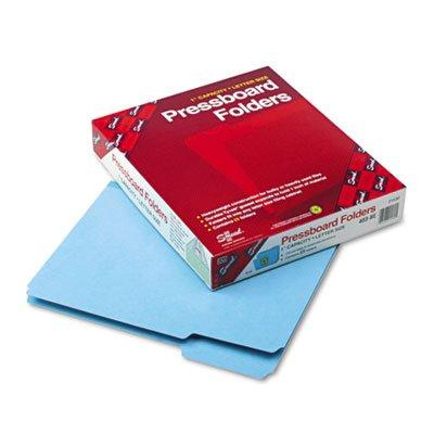 Folder, 1/3 AST Tab Cut, 9-12/ quot;H, Letter, 25/BX, Blue ()