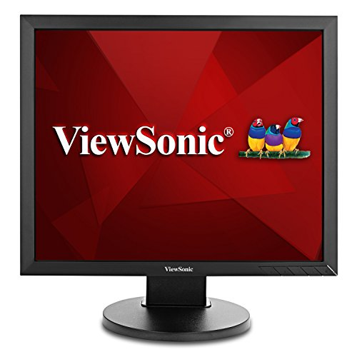 ViewSonic VG939SM 19 Inch IPS 1024p Ergonomic Monitor with DVI and VGA for Home and Office