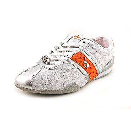 Baby Phat Estelle Women US 6.5 White Sneakers Baby Phat Heels