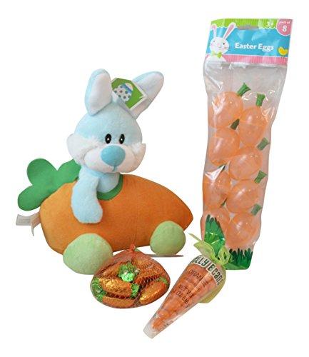 4 pc Bunny Themed Easter Basket Filler Bundle: 10