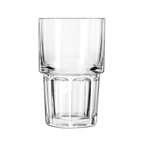 Libbey 15654 Gibraltar Stackable Beverage, 12 oz, 5