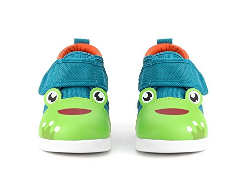 ikiki Squeaky Shoes for Toddlers w/Adjustable Squeaker (4, Prince Kairu) by ikiki (Image #1)'